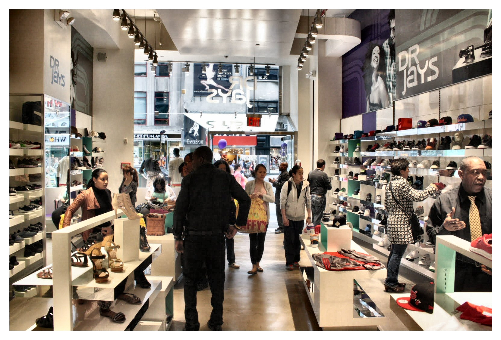 Inside Dr Jays Flagship Store in Manhattan, New York City